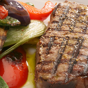Gegrilltes Steak