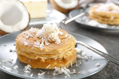Pancakes with coconut flour