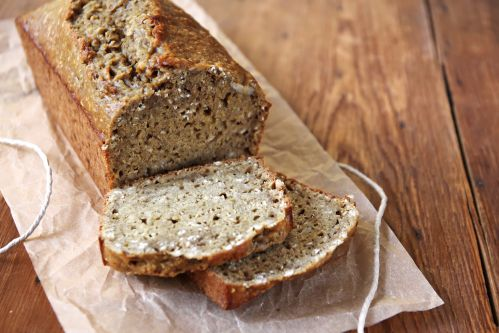 Protein bread with hemp protein
