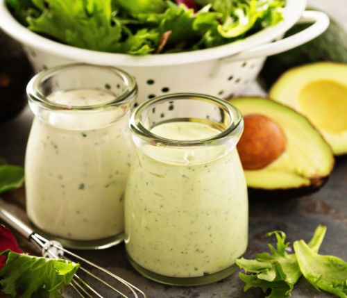 Ranch Dressing mit Avocado